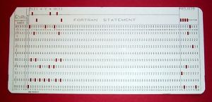 FORTRAN card