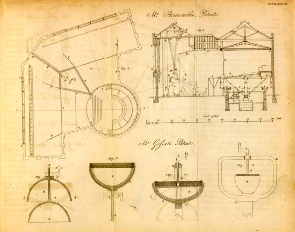 Diorama patent from NYPL Digital Library